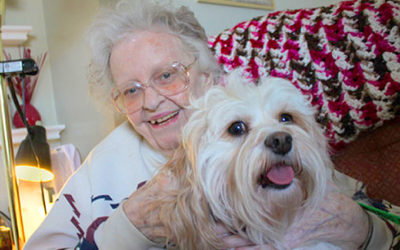 Pets Play Big Part In Senior Living