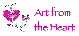 Small, rectangle version of Art from the Heart logo